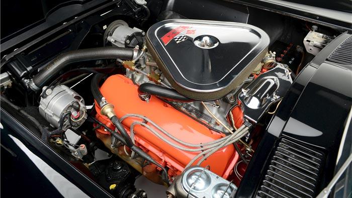 Black/Black 1967 Corvette L71 427/435