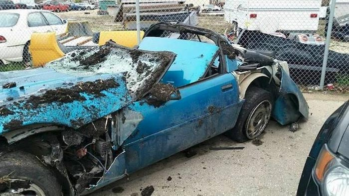 [ACCIDENT] C4 Corvette Owner Survives Crash with DUI Driver That Should Have Killed Him