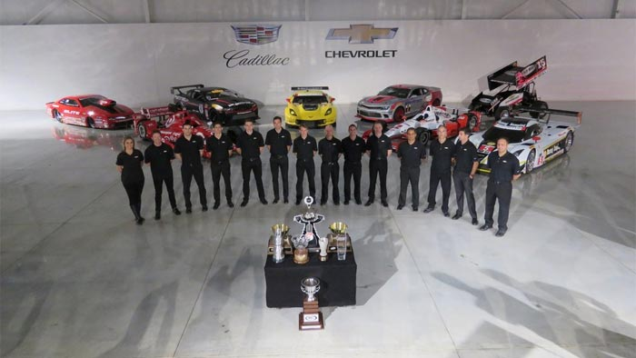 [PICS] Chevrolet Celebrates its 2015 Racing Champions at the Heritage Center