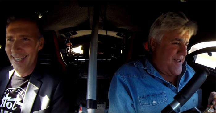[VIDEO] Jay Leno Drives the Corvette-based Hot Wheels Darth Vader Tribute Car