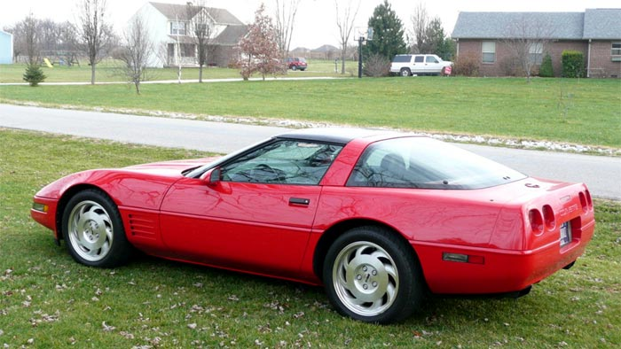 Husband Wins Custody of a 1994 Corvette in Alabama Divorce Case