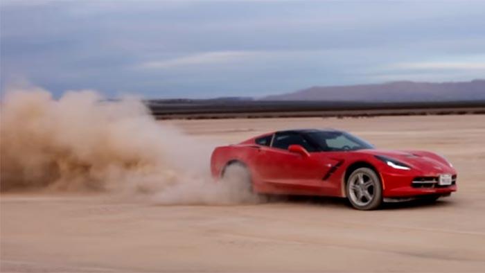 [VIDEO] Bros Hoon a Rental Corvette Stingray in the Desert