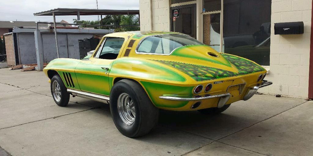 Corvettes For Sale >> Corvettes on eBay: Time Capsule 1965 Corvette Gasser - Corvette: Sales, News & Lifestyle