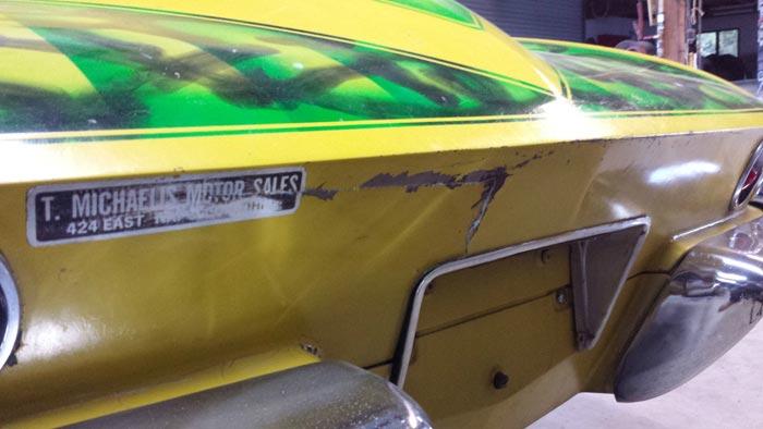 Corvettes on eBay: Time Capsual 1965 Corvette Gasser