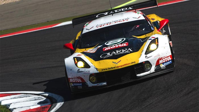 Larbre to Pass on GTE-Pro Corvette for 2016 FIA WEC