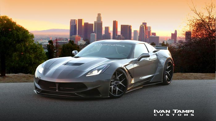 [PICS] Ivan Tampi Customs Goes Wide with the XIK Widebody C7 Corvette Stingray