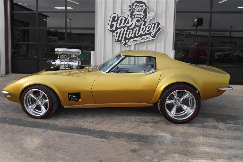 Fast N Loud S 1968 Hot Wheels Corvette To Be Offered At