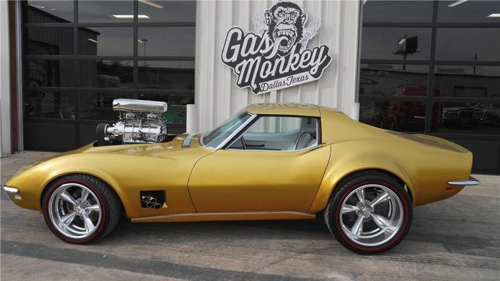 Fast n' Loud's 1968 Hot Wheels Corvette to be Offered at