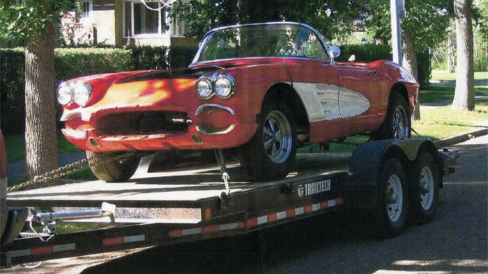 Barn Find: 1961 Corvette from the Edmonton Hard Rock Cafe