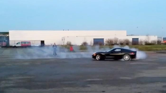 [VIDEO] Man Turns C6 Corvette into a Full Scale Remote Controlled Car