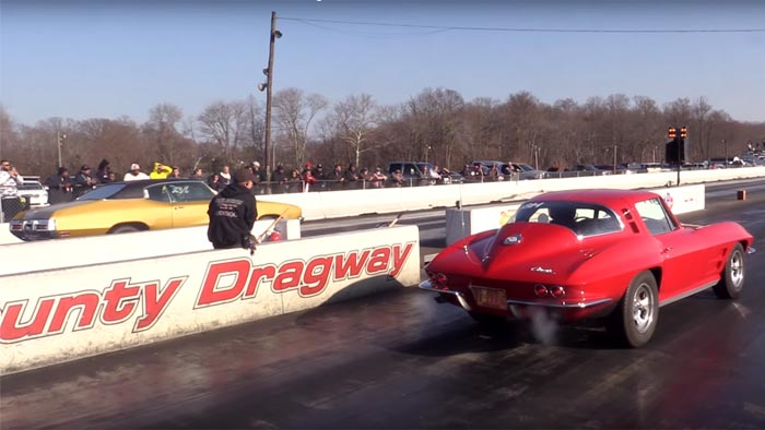 [VIDEO] Sleeper C2 Corvette Sting Ray Runs in the 10s
