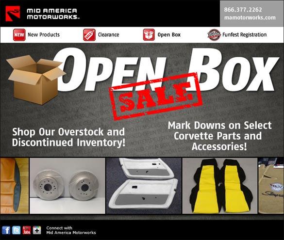 Mid America Motorworks Open Box Sale