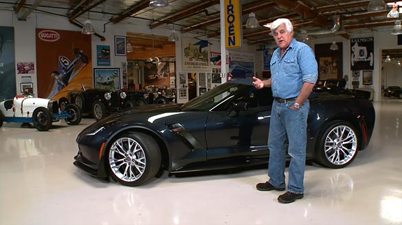 [VIDEO] Jay Leno Reviews the 2015 Corvette Z06 Convertible