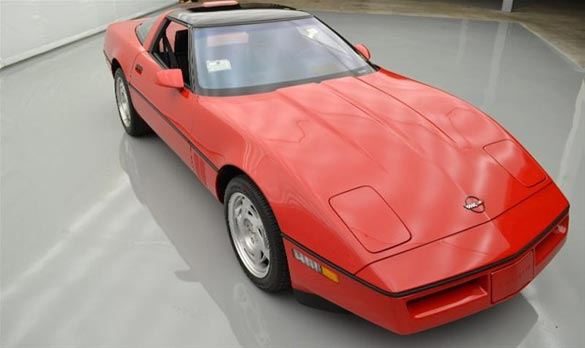 Corvettes on eBay: 127-Mile 1990 Corvette ZR-1