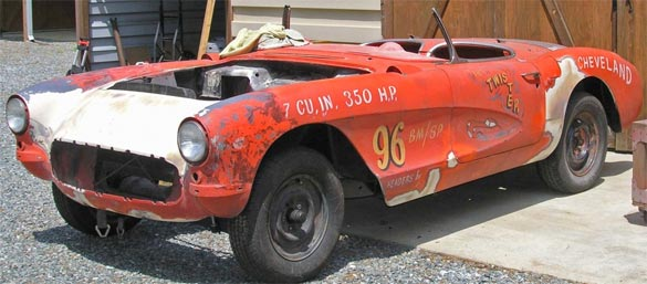 Information Wanted on this 1957 Drag Corvette named 'Lil Twister'