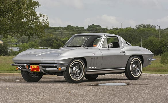 Unique 1965 Corvette Big Tank Coupe to Cross the Block at Mecum's Kissimmee Auction