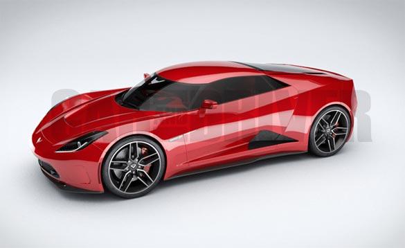 Is this the Zora ZR-1 Mid-Engine Corvette Prototype?