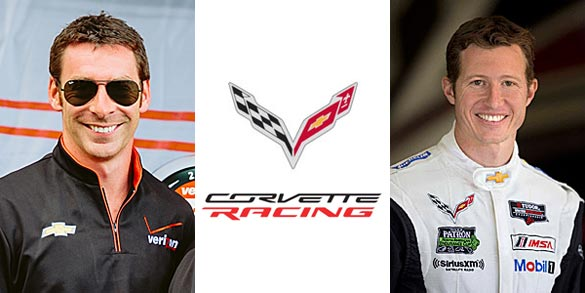 IndyCar Stars Pagenaud and Briscoe Join Corvette Racing for Daytona and Sebring