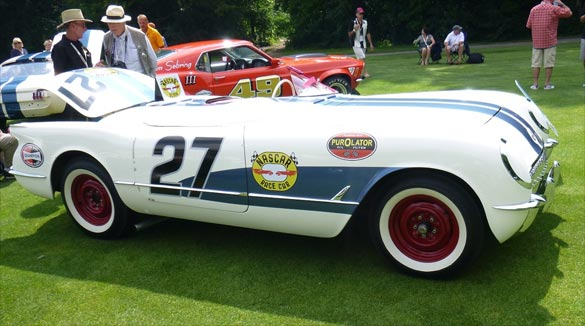 ProTeam Corvette to Offer the 1953 NASCAR Corvette at Barrett-Jackson