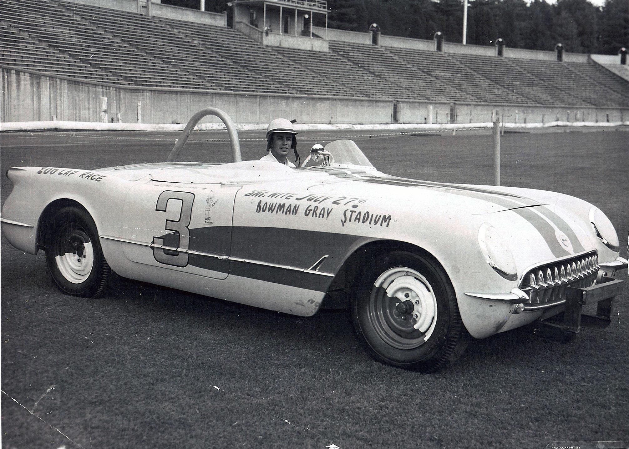 Proteam Corvette To Offer The 1953 Nascar Corvette At