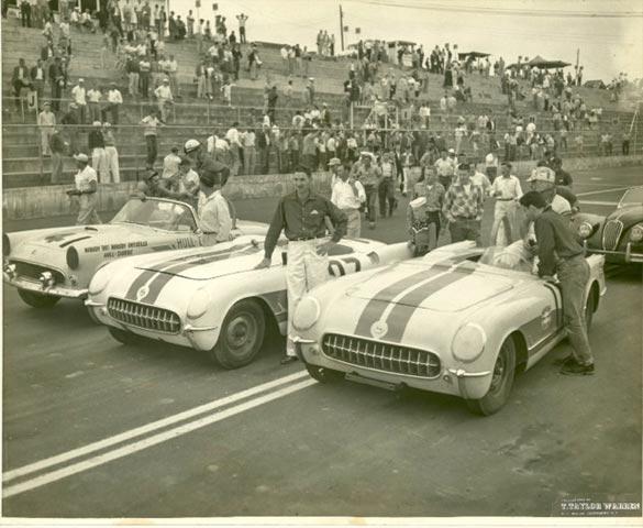 ProTeam Corvette to Offer the 1953 NASCAR Corvette at Barrett-Jackson