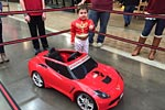 Corvette Museum Hosts Museum Delivery for a Four-Year-Old's Corvette Power Wheels