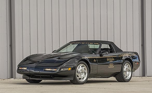 Rare 1994 Brickyard 400 Corvette Track Car to Cross the Block at Mecum Kissimme