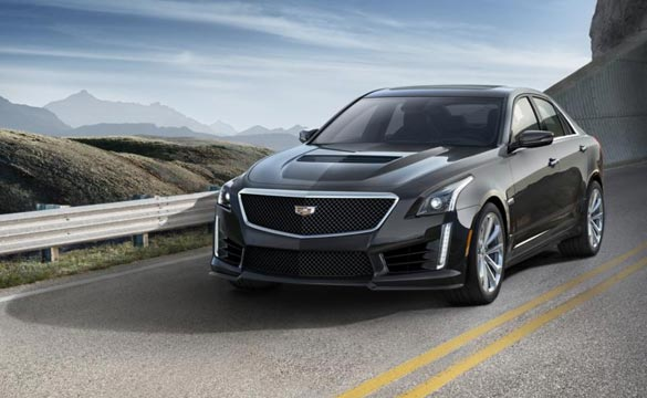 The Corvette Z06 will Soon Be Dethroned by the 200-MPH 2016 Cadillac CTS-V as GM's Fastest Production Car