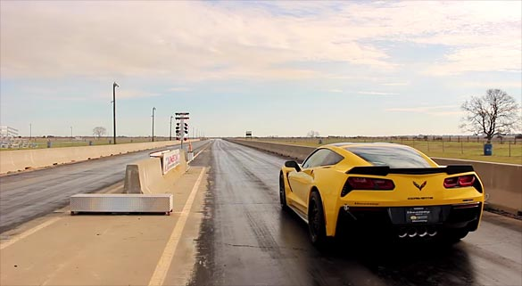 [VIDEO] Hennessey HPE700 Corvette Stingray with 8-Speed Auto Undergoes Quarter Mile Testing