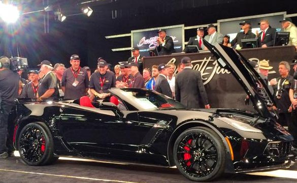 [VIDEO] Rick Hendrick Buys the 2015 VIN 001 Corvette Z06 Convertible at Barrett-Jackson