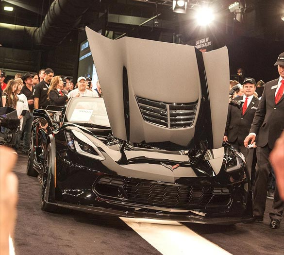 Rick Hendrick Buys the 2015 VIN 001 Corvette Z06 Convertible at Barrett-Jackson