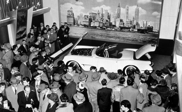 Corvette Made its First Public Appearance 62 Years Ago at the 1953 Motorama