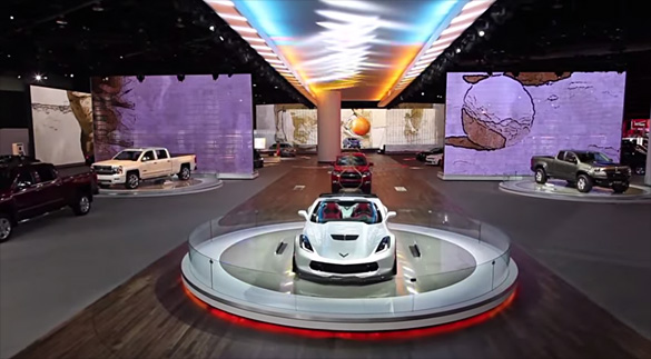 [VIDEO] Chevrolet Shows Off Their 2015 NAIAS Display with a Drone