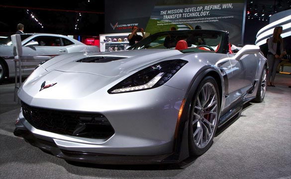 2015 Corvette Z06 Voted Sexiest Vehicle at NAIAS By Detroit News Readers
