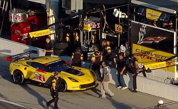 Corvette Racing at Daytona: GTML Pole Position for Oliver Gavin in the No.4 Corvette C7.R