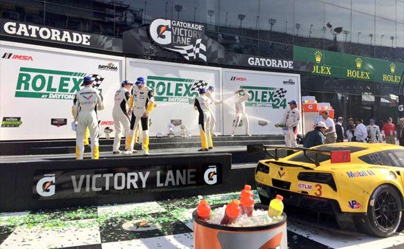 Corvette Racing's No.3 C7.R Wins the Rolex 24 at Daytona