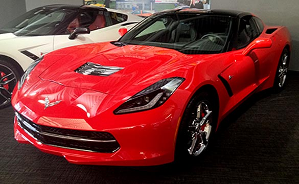 Win this 2015 Corvette Stingray from the Corvette Museum for $10