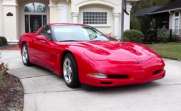 [VIDEO] One-Owner 2000 Corvette has an Amazing 650,000 Miles on the Odometer