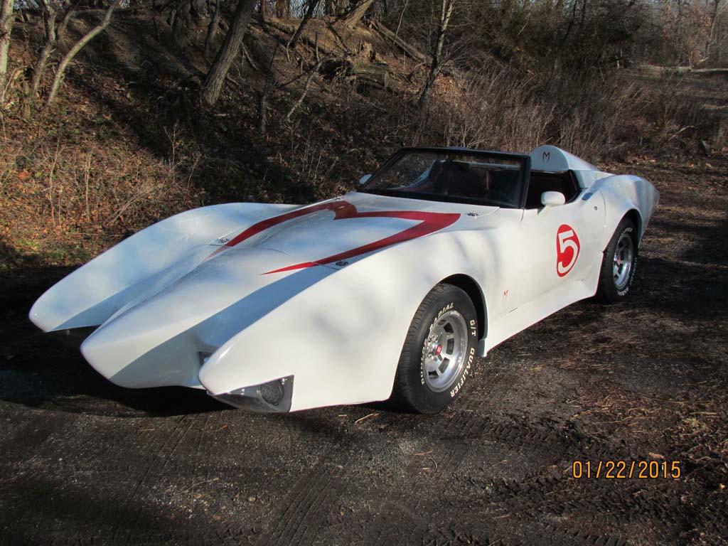Corvettes on eBay: 1981 Corvette-Based Speed Racer Mach 5