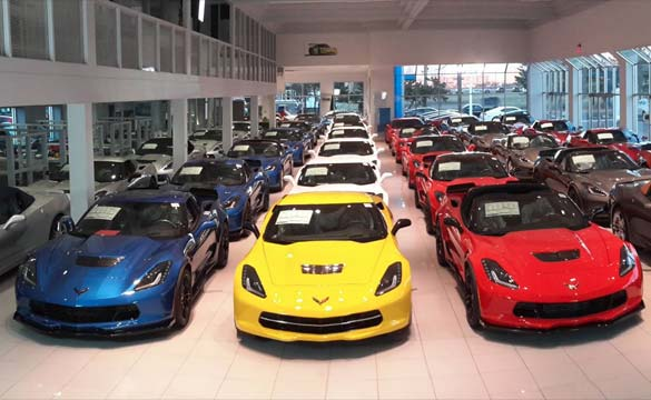 January 2015 Corvette Sales