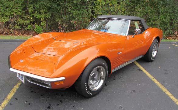 1971 LS6 Corvette