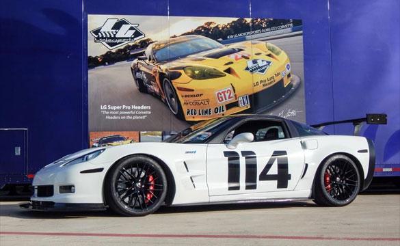 LG Motorsports Preps this C6 2013 Corvette ZR1 for the Track