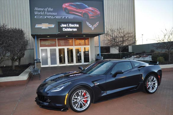 Corvette Delivery Dispatch with National Corvette Seller Mike Furman