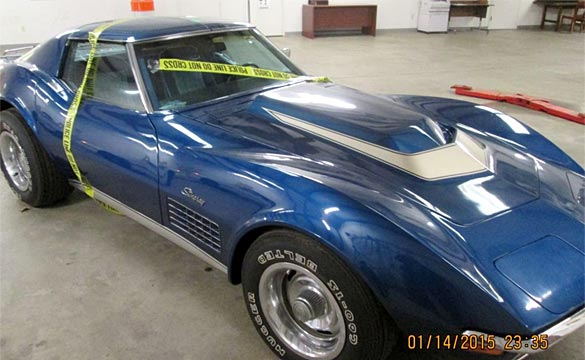[VIDEO] Stolen Corvette Found after 43 Years but Legal Roadblocks Prevent Reunion with Owner