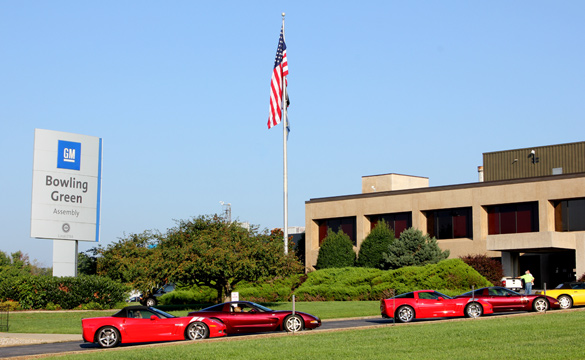 Winter Storm Forces Closure of the Corvette Assembly Plant and National Corvette Museum