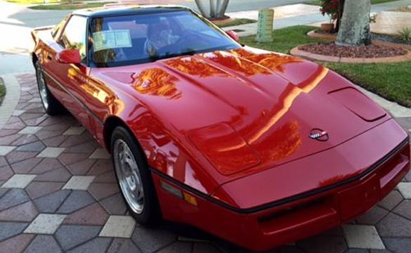 Corvettes on eBay: 1990 Corvette ZR-1 with 90 Original Miles