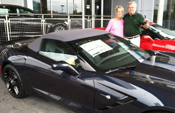 2014 Corvette Stingray Raffle Winner