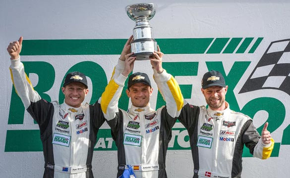 Corvette Racing's Ryan Briscoe Looks to Duplicate Daytona's Success at the 12 Hours of Sebring