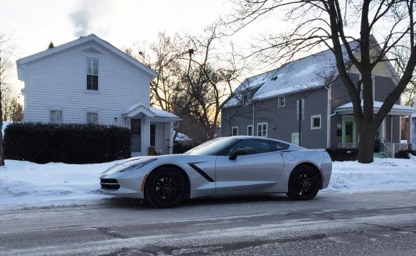 2014 Corvette Stingray Beats Arctic Blast of Old Man Winter