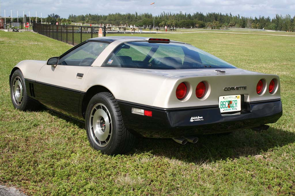 Corvettes On Ebay Rare Malcom Konner Edition 1986